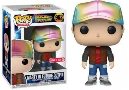 Funko Pop Movies: Back To The Future - Marty In Future Outfit #962 (EXC.)