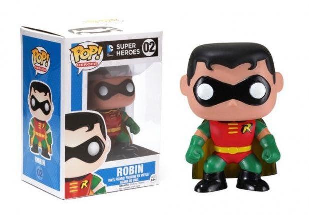 Funko Pop Heores: Super Heroes - Robin #02
