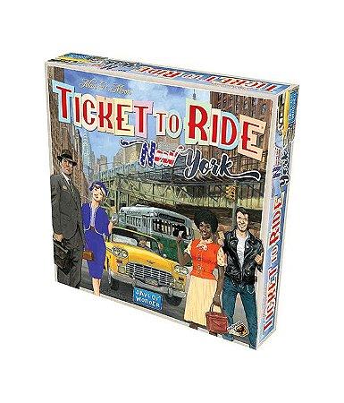 Board Game: Ticket To Ride New York - Galápagos Jogos