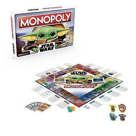 Board Game: Monopoly The Mandalorian - Hasbro