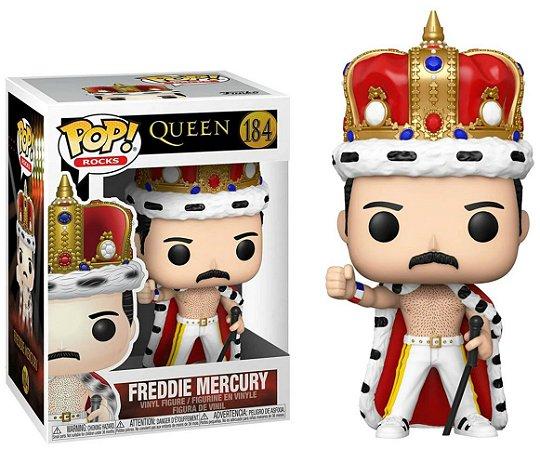 Funko Pop Rocks: Queen - Freddie Mercury #184