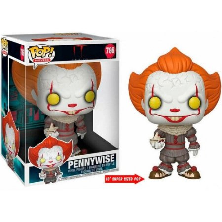 Funko Pop Movies: It Chapter Two - Pennywise #786 (10 Polegadas)