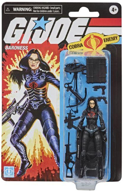 Action Figure: Baroness Gi Joe Retro - Hasbro