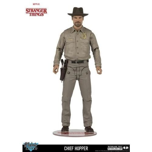 Action Figure: Chief Hopper - McFarlane
