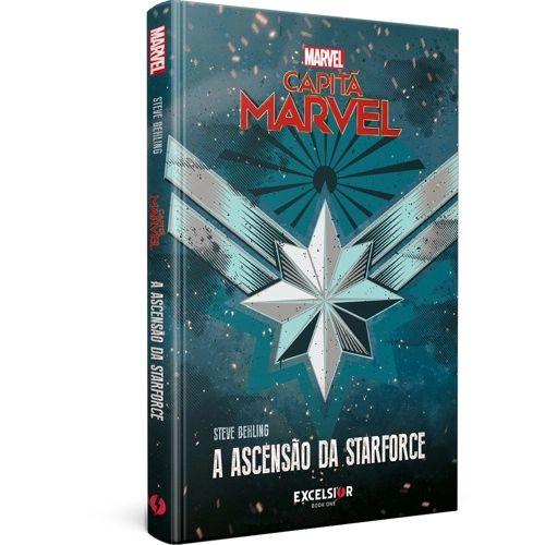 Livro - Capitã Marvel: A ascensão da starforce