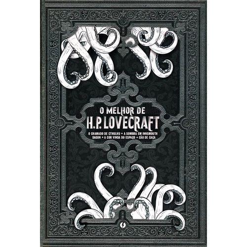 Livro - O mehor H.P Lovecraft