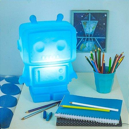 Luminária - Robo Azul