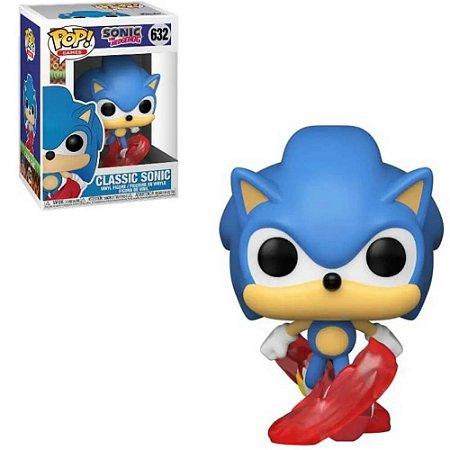 Funko POP Games: Sonic 30th- Classic Sonic #632