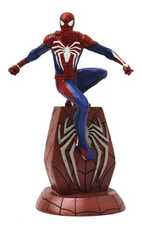 Action Figure: Estátua Spider-man Gameverse Marvel Gallery - Diamond