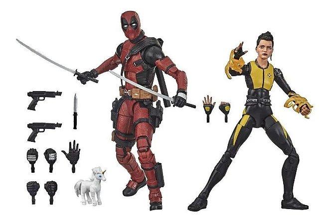 Deadpool e Negasonic Teenage Warhead Marvel Legends Series