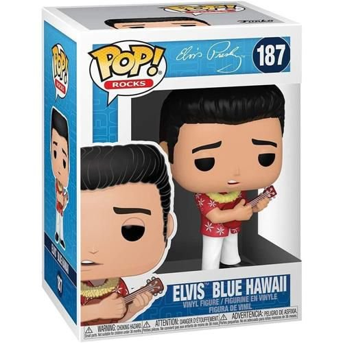 Funko Pop! Rocks: Elvis Presley - Elvis Blue Hawaii #187