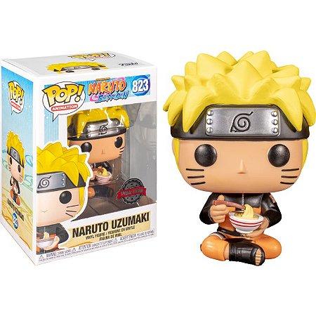 Funko Pop Animation: Naruto Shippuden - Naruto W/ Lámen #823
