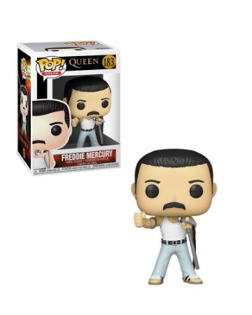 Funko Pop Rocks: Queen - Freddie Mercury #183