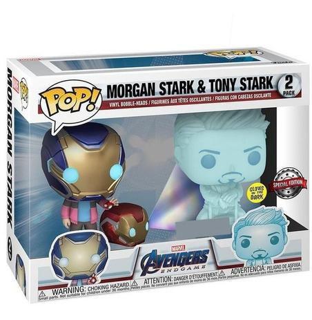 Funko Pop!: Avengers EndGame - Morgan Stark & Tony Stark 2Pack