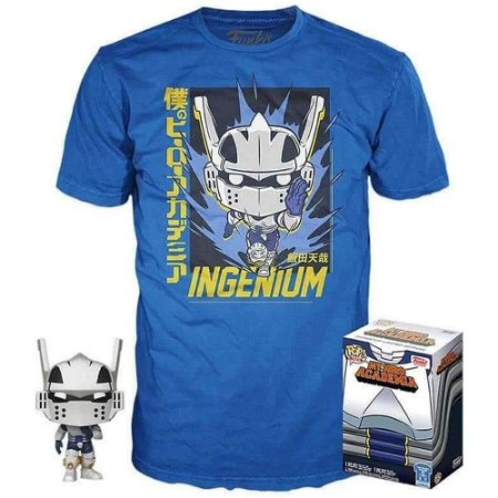 Funko Pop! Tees: My Hero Academia - Box Iida #740