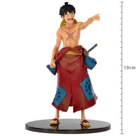 ACTION FIGURE: ONE PIECE - MONKEY D LUFFY - WORLD COLOSSEUM 2