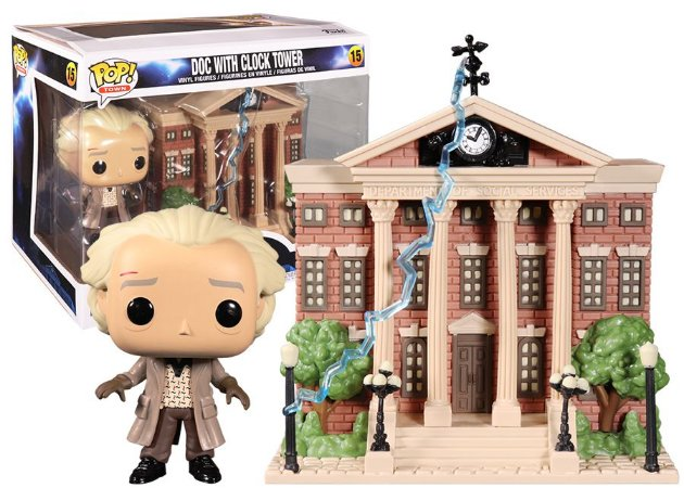 Funko Pop Town: Back To The Future - Doc W/ Clock Tower #15
