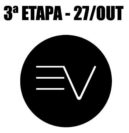 TERCEIRA ETAPA 27/10  - INSCRIÇÃO EVTRI 2019