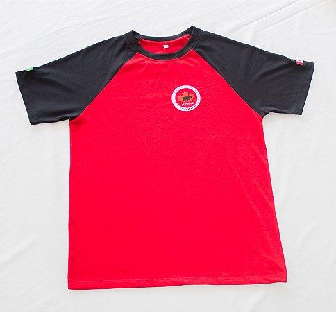 Maple Bear Fundamental II - Camiseta Manga Curta Vermelha - Feminina - Ref.145