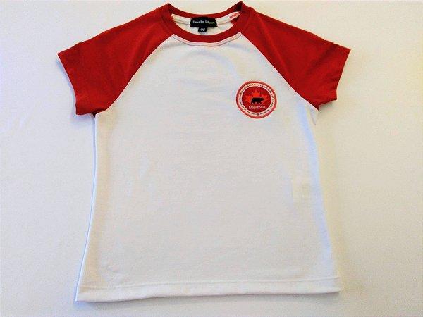 Maple Bear Fundamental - Camiseta Manga Curta Branca - Masculina - Ref.101