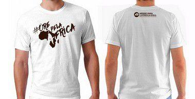 Camiseta Masculina: ORE PELA ÁFRICA