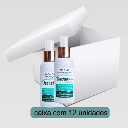 Óleo de Massagem - Caixa 12Und