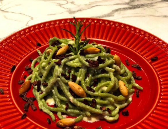 Espaguete Guiltless com spirulina 100g
