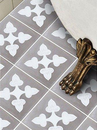 Adesivo para piso ladrilho rustico