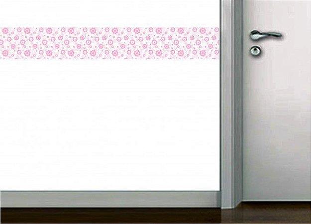 Faixa de parede flores
