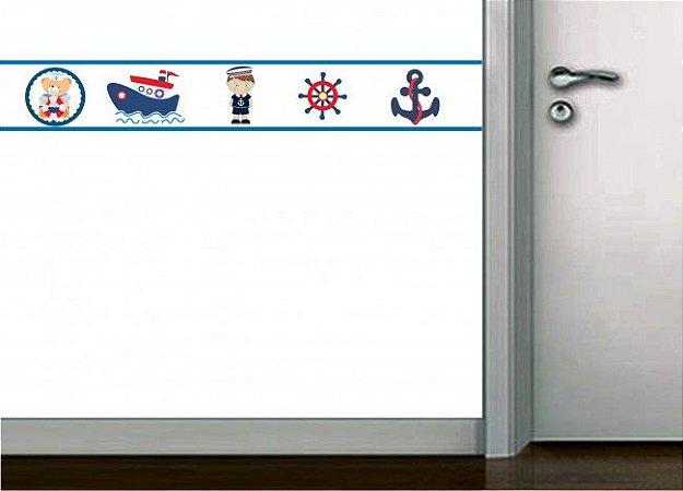 Faixa de parede marinheiro