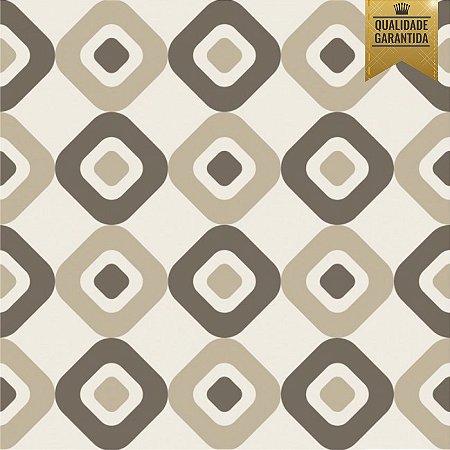 Papel de parede geométrico losangos