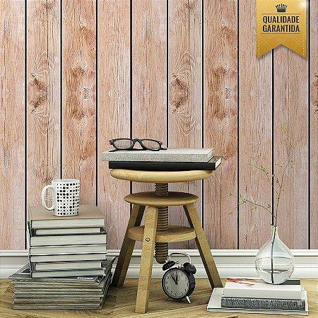 Papel de parede madeira rústica