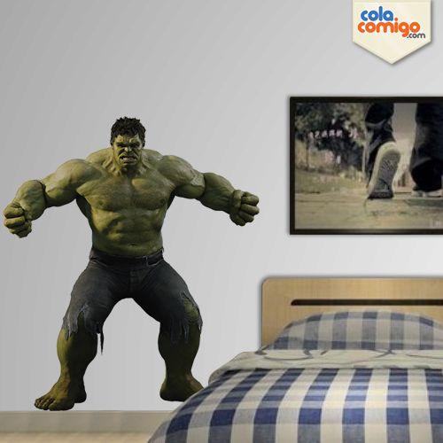 Adesivo de Parede Hulk