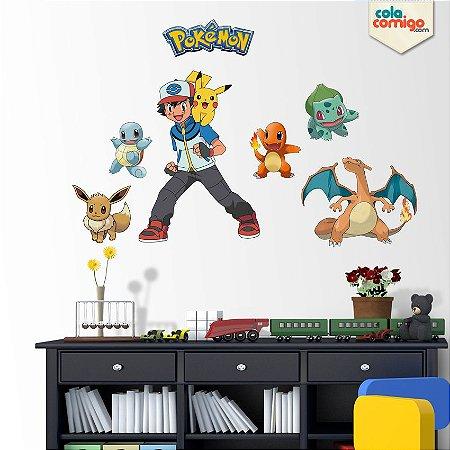 Adesivo de Parede Pokémon