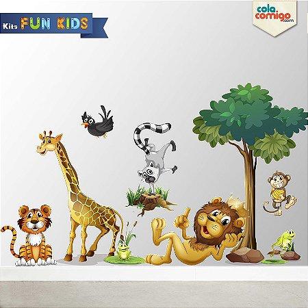 Adesivo de Parede Zoo