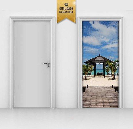 Adesivo de Porta Caribe