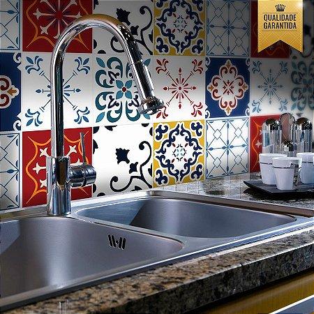 Adesivo de azulejo cozinha Etna