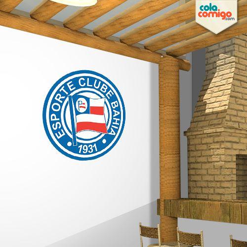 Adesivo Escudo Esporte Clube Bahia