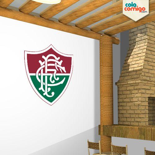 Adesivo de parede Escudo do Fluminense