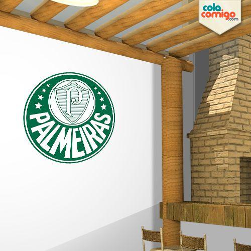 Adesivo Escudo Palmeiras