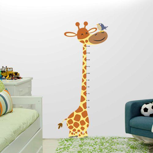 Adesivo de parede Girafinha Métrica