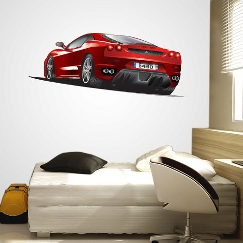 Adesivo de Parede Ferrari Sport