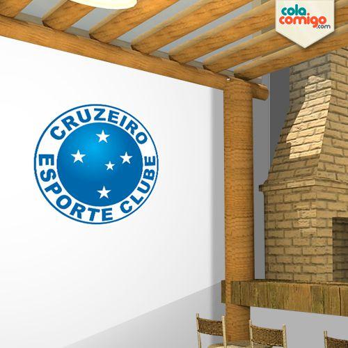Adesivo escudo do Cruzeiro