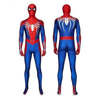 COSPLAY SPIDERMAN HOMEM ARANHA SPIDER MAN  (2018) PS4 GAME PREMIUM