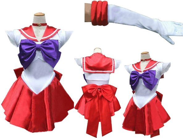 COSPLAY SAILOR MARS SAILOR MOON