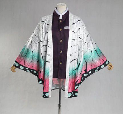 HAORI SHINOBU KOCHO COSPLAY KIMETSU NO YAIBA