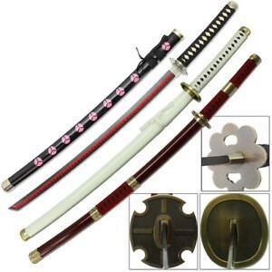 ESPADAS KATANAS COSPLAY ZORO SWORD'S ONE PIECE