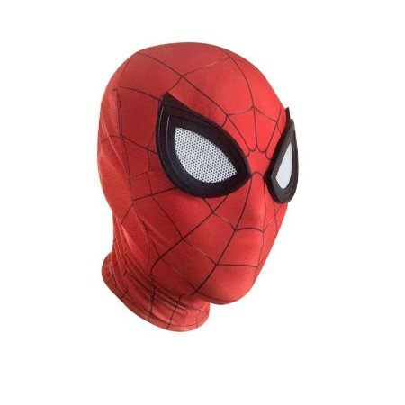 MASCARA COSPLAY SPIDERMAN ADULTO + FACESHELL