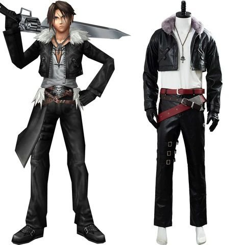 COSPLAY SQUALL LEONHART FINAL FANTASY VIII