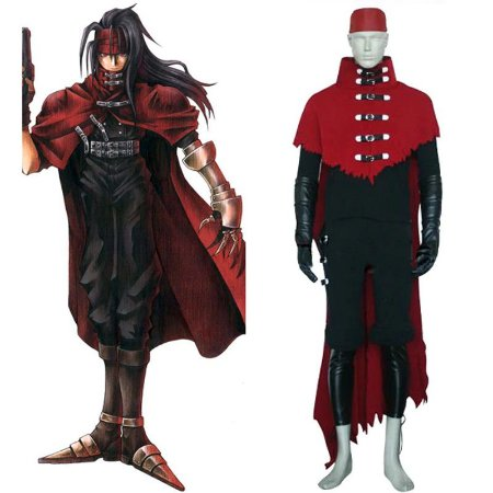 COSPLAY VINCENT VALENTINE FINAL FANTASY VII